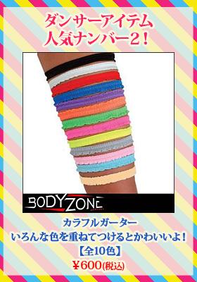 【全10色】カラフルガーター「衣装にプラスアルファでおしゃれ度アップ↑」